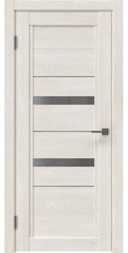 Межкомнатная дверь RM010 (экошпон «белый дуб» / матовое стекло)
