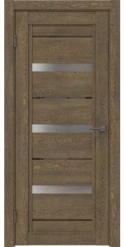 Межкомнатная дверь RM011 (экошпон «дуб антик» / матовое стекло) — 0122