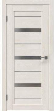 Межкомнатная дверь RM011 (экошпон «белый дуб» / матовое стекло) — 0125