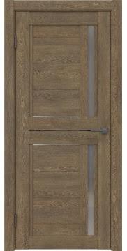 Межкомнатная дверь RM012 (экошпон «дуб антик» / матовое стекло) — 0137