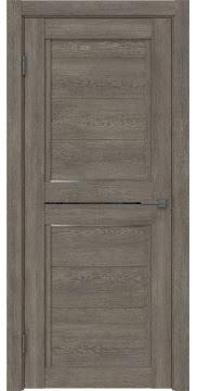 Межкомнатная дверь RM013 (экошпон «серый дуб» / матовое стекло) — 0158