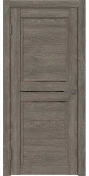 Межкомнатная дверь RM013 (экошпон «серый дуб» / стекло бронзовое) — 0159