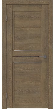 Межкомнатная дверь RM013 (экошпон «дуб антик» / матовое стекло) — 0152