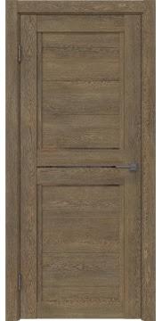 Межкомнатная дверь RM013 (экошпон «дуб антик» / стекло бронзовое) — 0153