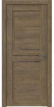 Межкомнатная дверь RM013 (экошпон «дуб антик» / стекло графит) — 0154