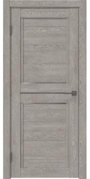 Межкомнатная дверь RM013 (экошпон «дымчатый дуб» / матовое стекло) — 0164