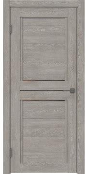 Межкомнатная дверь RM013 (экошпон «дымчатый дуб» / стекло бронзовое) — 0165