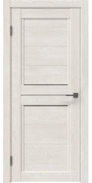 Межкомнатная дверь RM013 (экошпон «белый дуб» / матовое стекло) — 0155