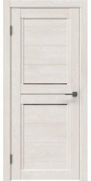 Межкомнатная дверь RM013 (экошпон «белый дуб» / стекло бронзовое) — 0156
