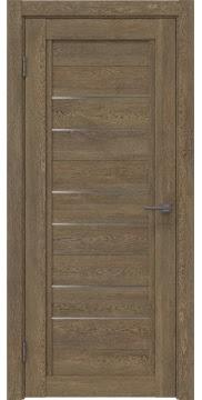 Межкомнатная дверь RM014 (экошпон «дуб антик» / матовое стекло) — 0167