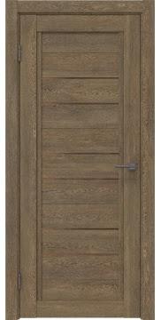 Межкомнатная дверь RM014 (экошпон «дуб антик» / стекло бронзовое) — 0168