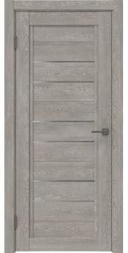 Межкомнатная дверь RM014 (экошпон «дымчатый дуб» / матовое стекло) — 0179