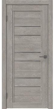 Межкомнатная дверь RM014 (экошпон «дымчатый дуб» / стекло графит) — 0181