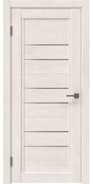 Межкомнатная дверь RM014 (экошпон «белый дуб» / матовое стекло)
