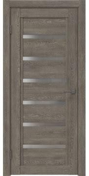 Межкомнатная дверь RM015 (экошпон «серый дуб» / матовое стекло) — 0188