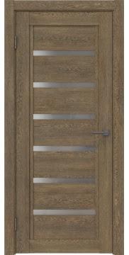 Межкомнатная дверь RM015 (экошпон «дуб антик» / матовое стекло) — 0182