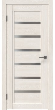 Межкомнатная дверь RM015 (экошпон «белый дуб» / матовое стекло) — 0185