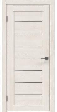 Межкомнатная дверь RM016 (экошпон «белый дуб» / матовое стекло)