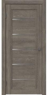 Межкомнатная дверь RM017 (экошпон «серый дуб» / матовое стекло) — 0227
