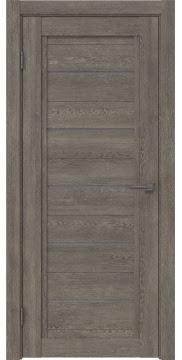 Межкомнатная дверь RM017 (экошпон «серый дуб» / лакобель серый) — 0231