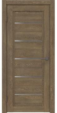 Межкомнатная дверь RM017 (экошпон «дуб антик» / матовое стекло) — 0213