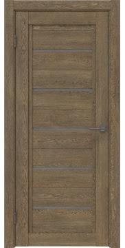 Межкомнатная дверь RM017 (экошпон «дуб антик» / лакобель серый) — 1018