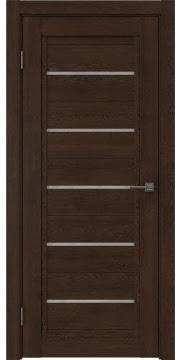 Межкомнатная дверь RM017 (экошпон «дуб шоколад» / лакобель белый) — 1022