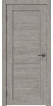 Межкомнатная дверь RM017 (экошпон «дымчатый дуб» / лакобель белый) — 1025