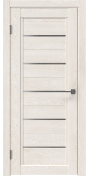 Межкомнатная дверь RM017 (экошпон «белый дуб» / матовое стекло)