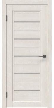 Межкомнатная дверь RM017 (экошпон «белый дуб» / лакобель белый) — 0219