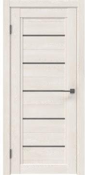 Межкомнатная дверь RM017 (экошпон «белый дуб» / лакобель серый) — 1020