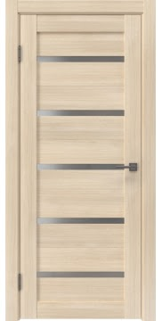 Межкомнатная дверь, RM020 (экошпон капучино мелинга, матовое стекло)