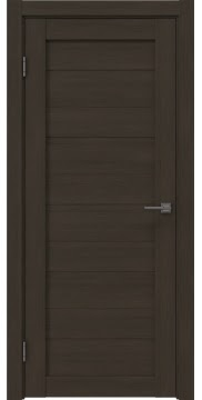 Межкомнатная дверь, RM020 (экошпон мокко, глухая)