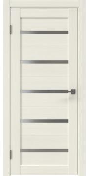 Межкомнатная дверь RM020 (экошпон «эш вайт мелинга» / матовое стекло) — 0516