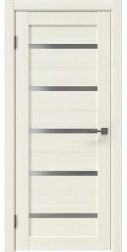 Межкомнатная дверь RM020 (экошпон «сандал белый» / матовое стекло) — 0974