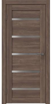 Межкомнатная дверь RM020 (экошпон «античный орех» / матовое стекло) — 0515