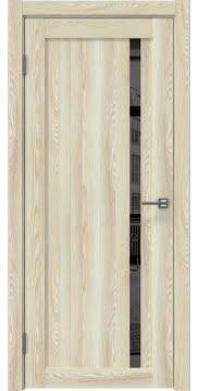 Межкомнатная дверь RM022 (экошпон «клен экрю» / зеркало тонированное) — 0565