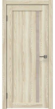 Межкомнатная дверь RM022 (экошпон «клен экрю» / лакобель бежевый) — 0566