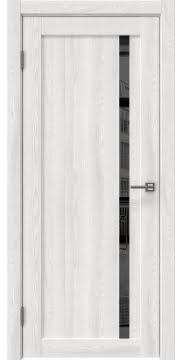 Межкомнатная дверь RM022 (экошпон «ясень айс» / зеркало тонированное) — 0570