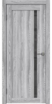 Межкомнатная дверь, RM022 (экошпон ясень грей, лакобель серый)