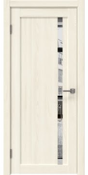 Межкомнатная дверь RM022 (экошпон «ясень крем» / зеркало) — 0579