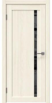 Межкомнатная дверь RM022 (экошпон «ясень крем» / зеркало тонированное) — 0580