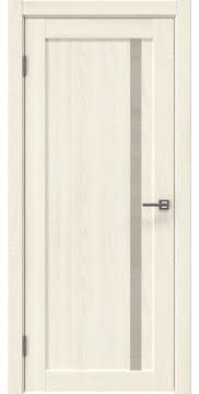 Межкомнатная дверь RM022 (экошпон «ясень крем» / лакобель бежевый) — 0581