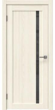 Межкомнатная дверь RM022 (экошпон «ясень крем» / лакобель серый) — 0582