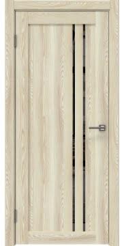 Межкомнатная дверь RM023 (экошпон «клен экрю» / зеркало тонированное) — 0626