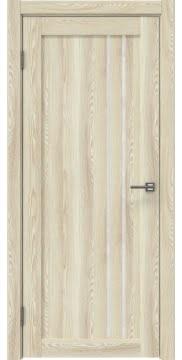 Межкомнатная дверь RM023 (экошпон «клен экрю» / лакобель белый) — 0624