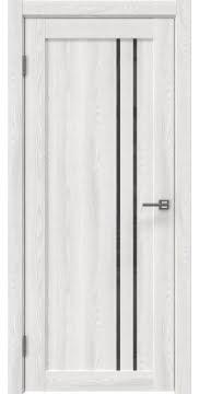 Межкомнатная дверь RM023 (экошпон «ясень айс» / лакобель серый) — 0632