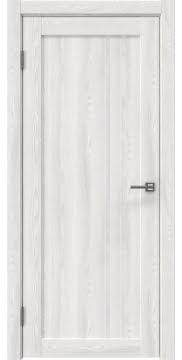 Межкомнатная дверь RM023 (экошпон «ясень айс» / лакобель белый) — 0629