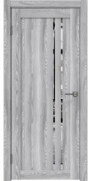Межкомнатная дверь RM023 (экошпон «ясень грей» / зеркало) — 0635