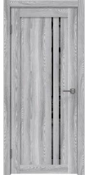 Межкомнатная дверь RM023 (экошпон «ясень грей» / зеркало тонированное) — 0636